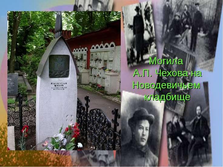 Могила А.П. Чехова на Новодевичьем кладбище