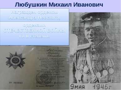 Любушкин Михаил Иванович