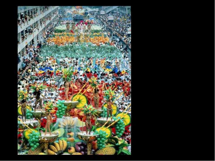 Карнавал в Рио – де Жанейро Бразилия