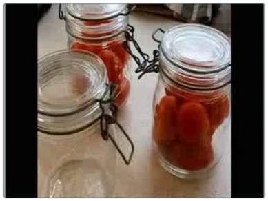 Стерилизация овощей