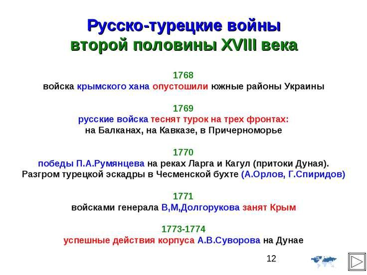 Русско-турецкие войны второй половины XVIII века 1768 войска крымского хана о...