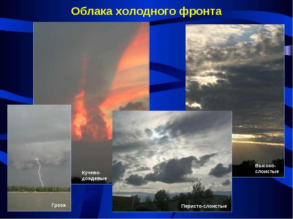 Облака холодного фронта
