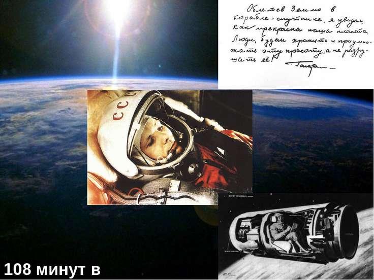 108 минут в космосе