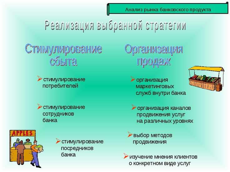 стимулирование потребителей стимулирование сотрудников банка стимулирование п...
