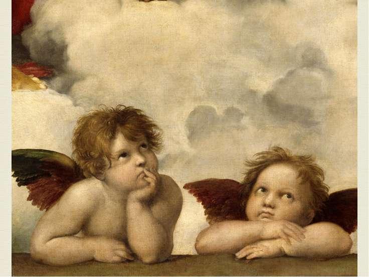 Рафаель Санті Рафае ль Са нті (італ. Raffaello Santi, Raffaello Sanzio; * бер...