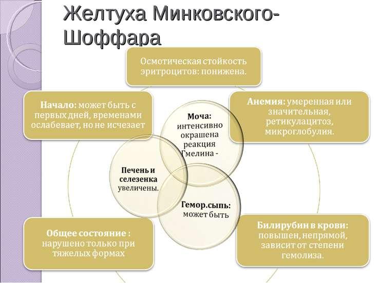 Желтуха Минковского-Шоффара