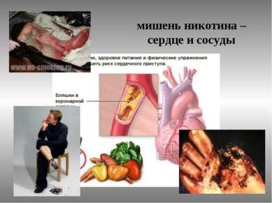 мишень никотина – сердце и сосуды