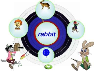 a rabbit e u o