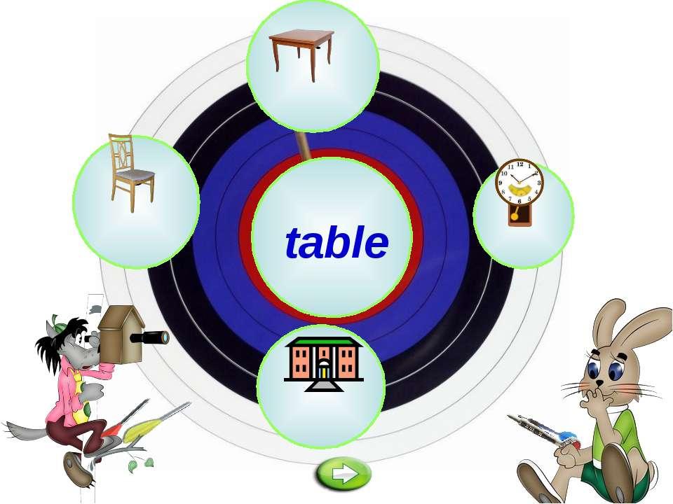 a table o i e