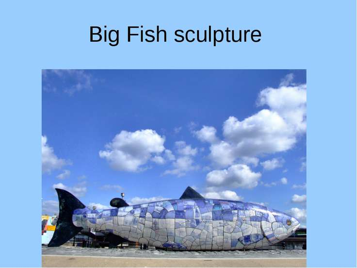 Big Fish sculpture