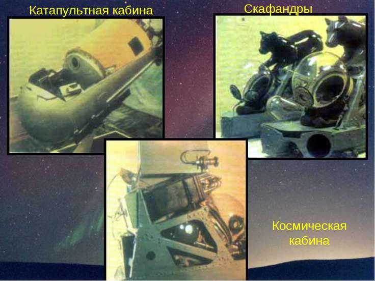 Космическая кабина Катапультная кабина Скафандры