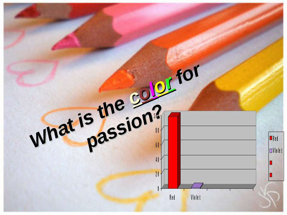 What is the color for passion?