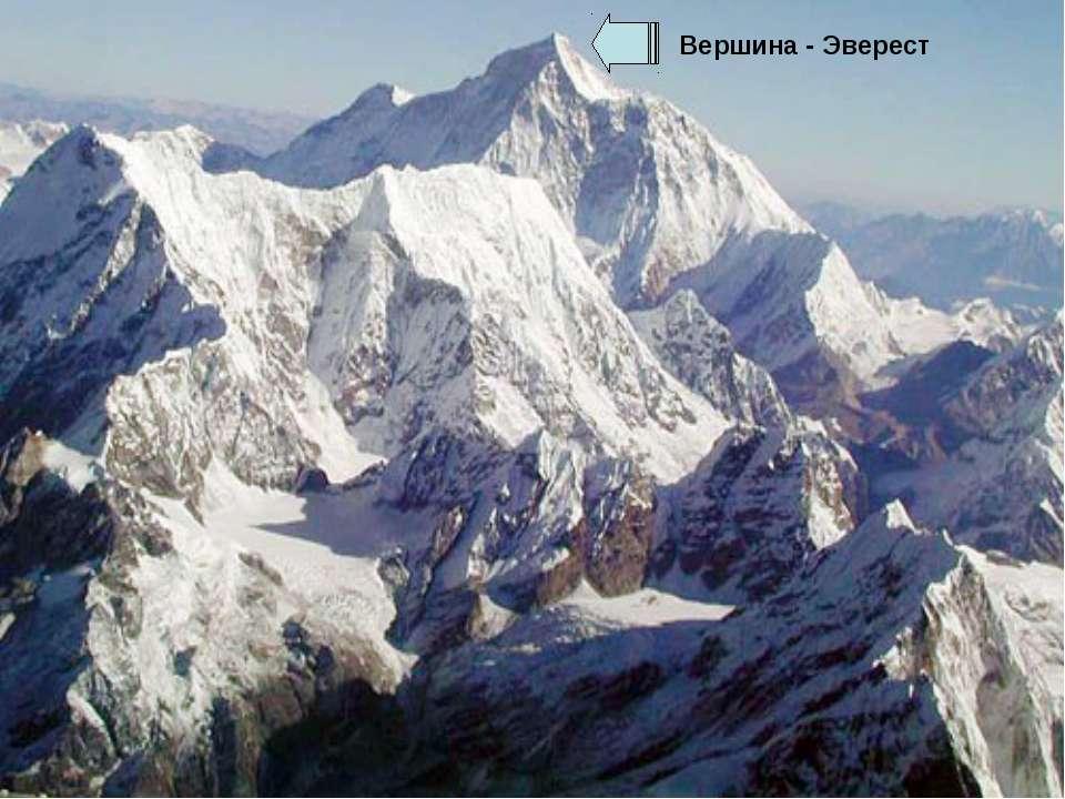 Вершина - Эверест