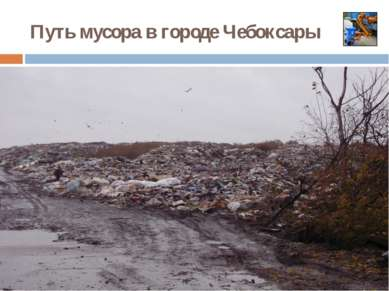 Путь мусора в городе Чебоксары 1. Бросаем мусор в ведро 2.Отнесем пакет в кон...