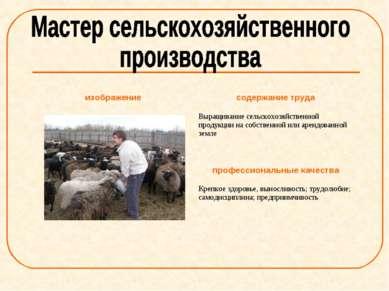 изображение содержание труда Выращивание сельскохозяйственной продукции на со...