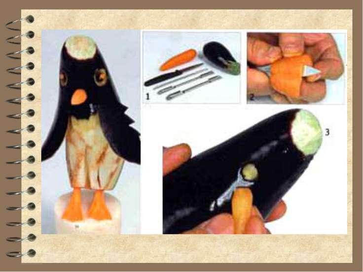 Пингвин из баклажана своими руками 564