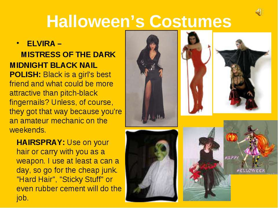 Halloween's Costumes ELVIRA – MISTRESS OF THE DARK MIDNIGHT BLACK NAIL POLISH...