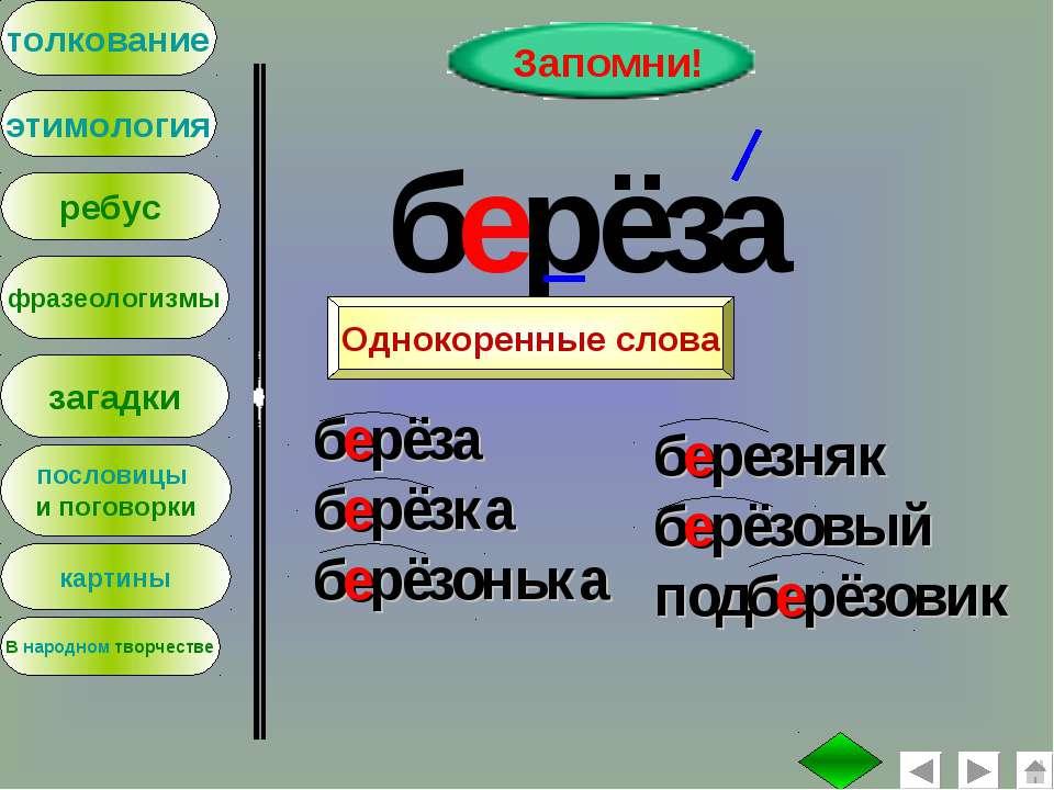 : толкование этимология ребус фразеологизмы загадки пословицы и поговорки Зап...