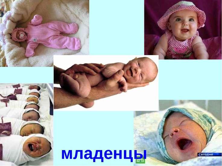 младенцы