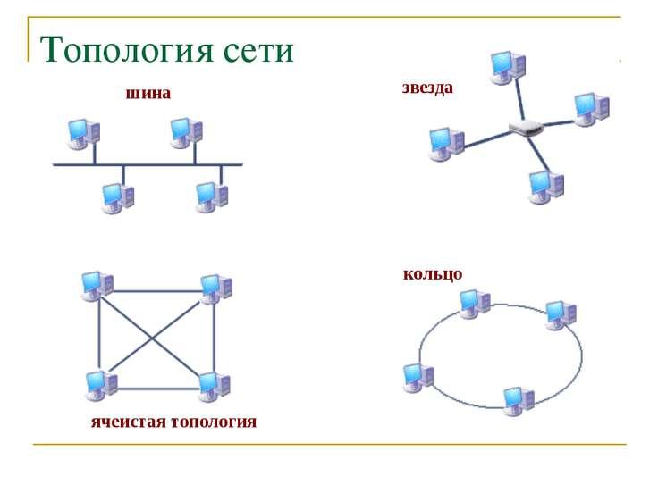 Топология сети шина звезда