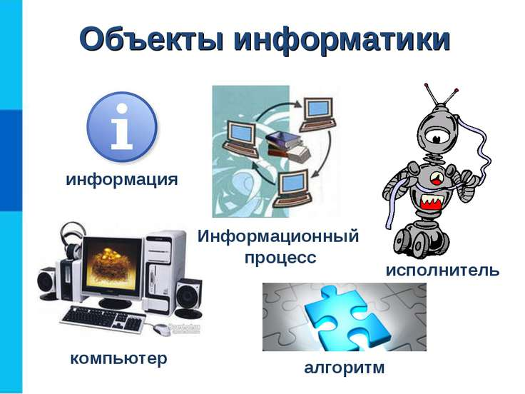 Объекты информатики