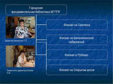 Директор Кривицкая Л. Б.