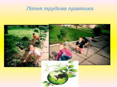 Літня трудова практика