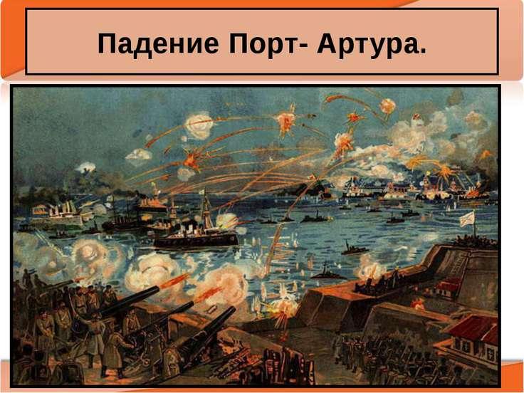 Падение Порт- Артура. Антоненкова А.В. МОУ Будинская ООШ