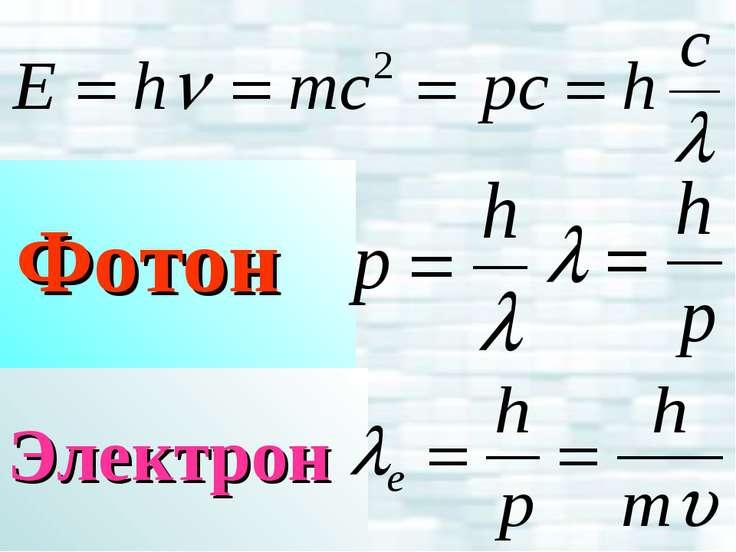 Электрон Фотон