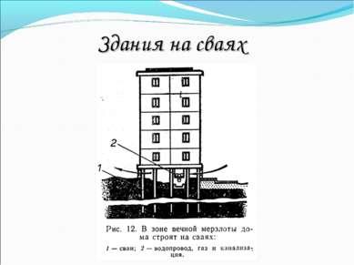 Здания на сваях
