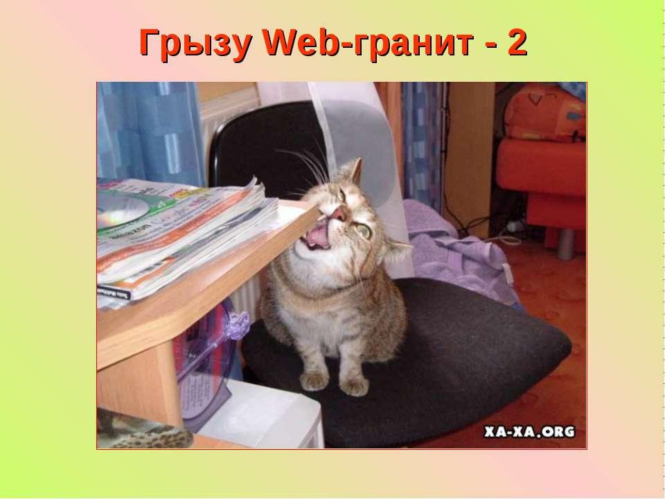 Грызу Web-гранит - 2