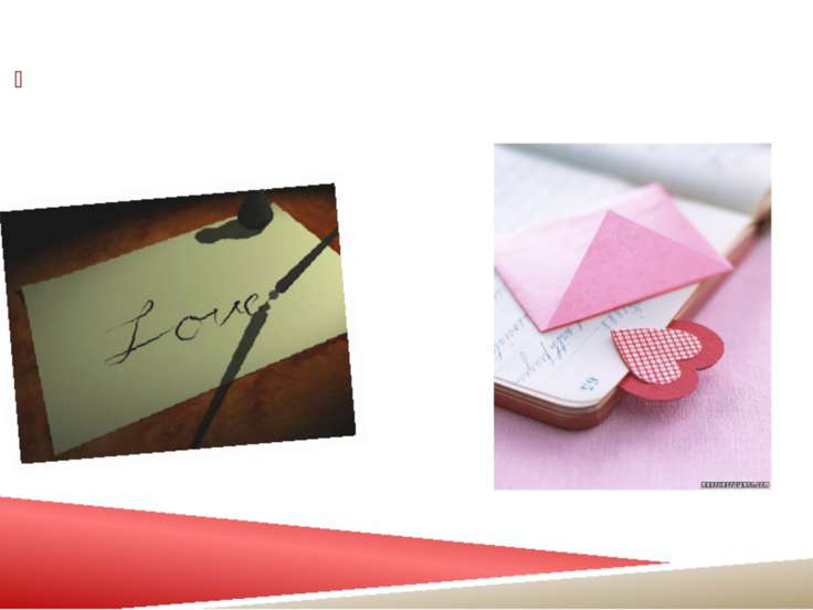 1. Get a beautiful and romantic letter pad with good paper quality.