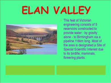 This feat of Victorian engineering consists of 5 reservoirs constructed to pr...