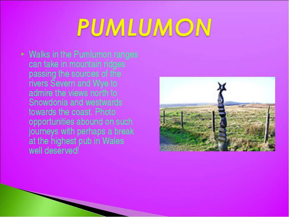 Walks in the Pumlumon ranges can take in mountain ridges passing the sources ...