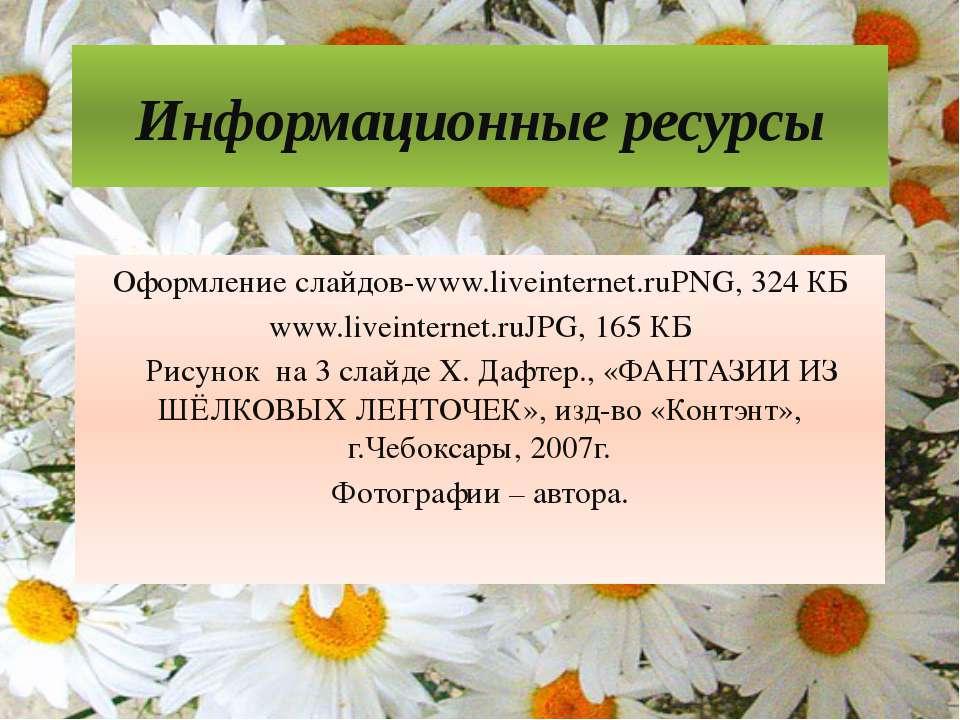 Информационные ресурсы Оформление слайдов-www.liveinternet.ruPNG, 324 КБ www....