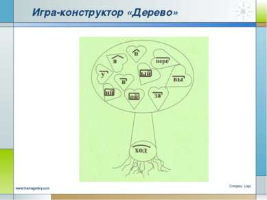 Игра-конструктор «Дерево» Company Logo www.themegallery.com Company Logo