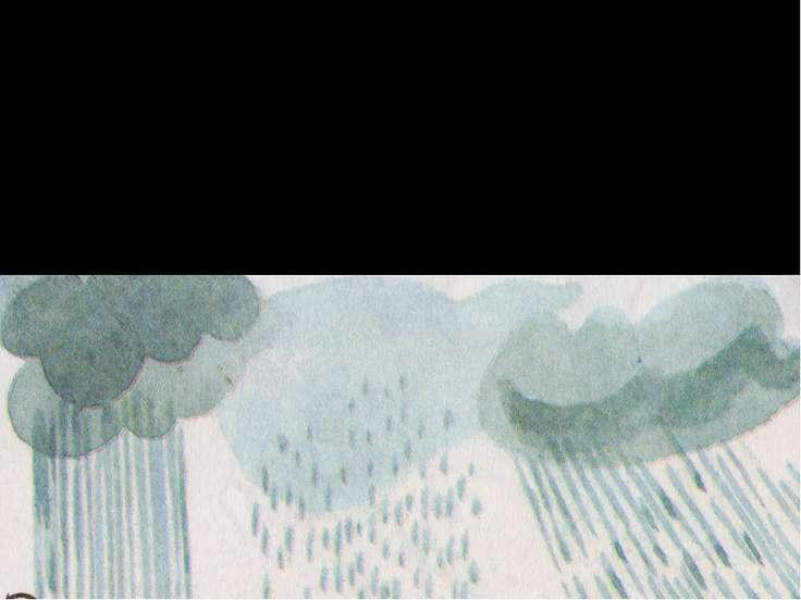 Какие бывают дожди? Ливень, или проливной дождь. Ситничек – мелкий дождь, как...