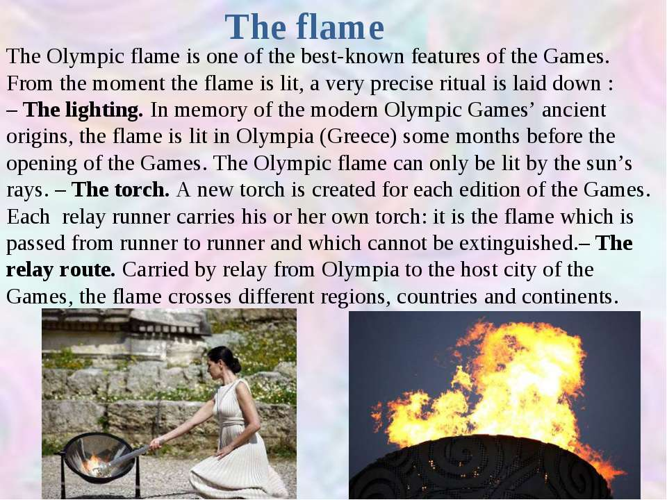What Happens To The Olympic Flame Before Each Games