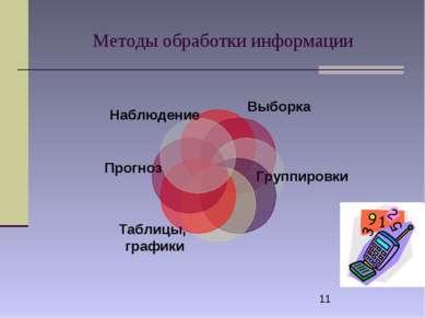 Методы обработки информации