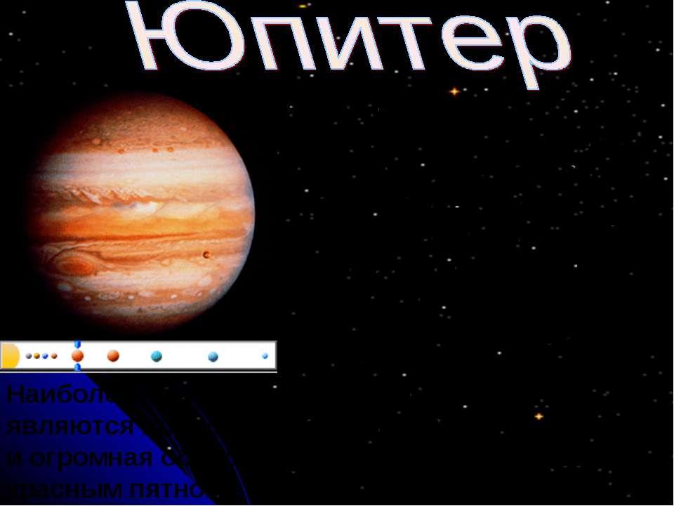 Названный в честь верховного римского бога Юпитер - самая большая планета Сол...