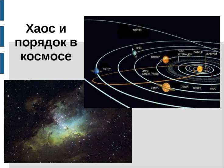 Хаос и порядок в космосе