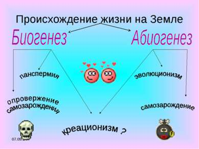 * Происхождение жизни на Земле