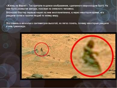 «Жизнь на Марсе!». Так кричали подписи изображения, сделанного марсоходом Spi...