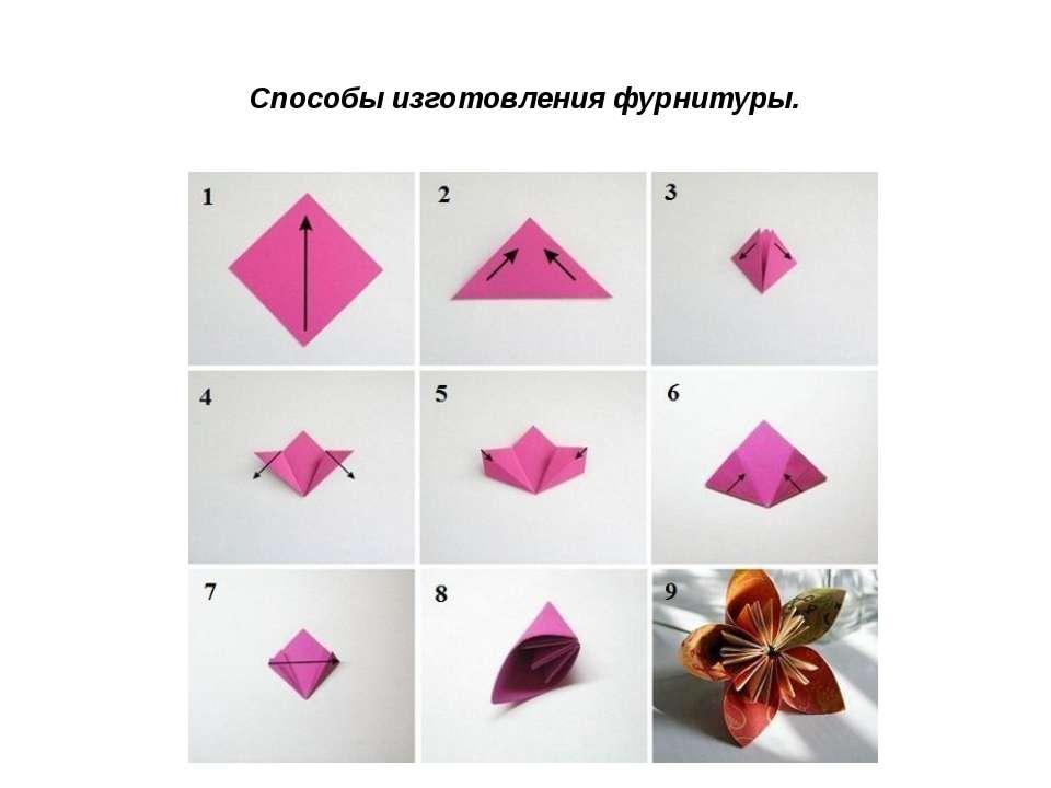 Способы изготовления фурнитуры.