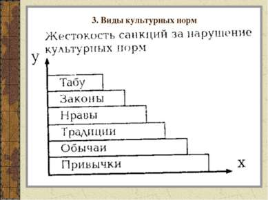 3. Виды культурных норм