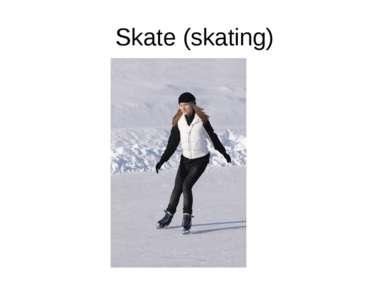 Skate (skating)