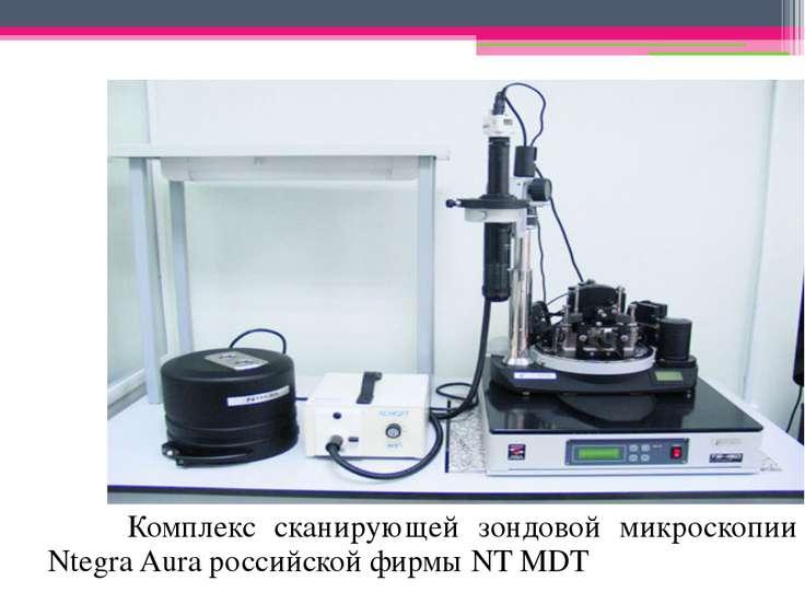 Комплекс сканирующей зондовой микроскопии Ntegra Aura российской фирмы NT MDT