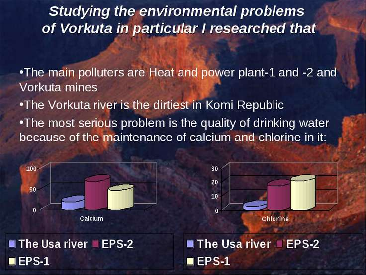 Studying the environmental problems of Vorkuta in particular I researched tha...