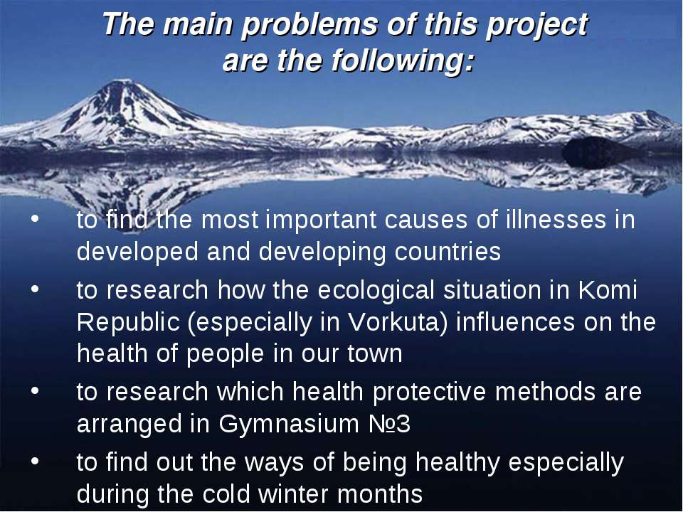 The main problems of this project are the following: to find the most importa...