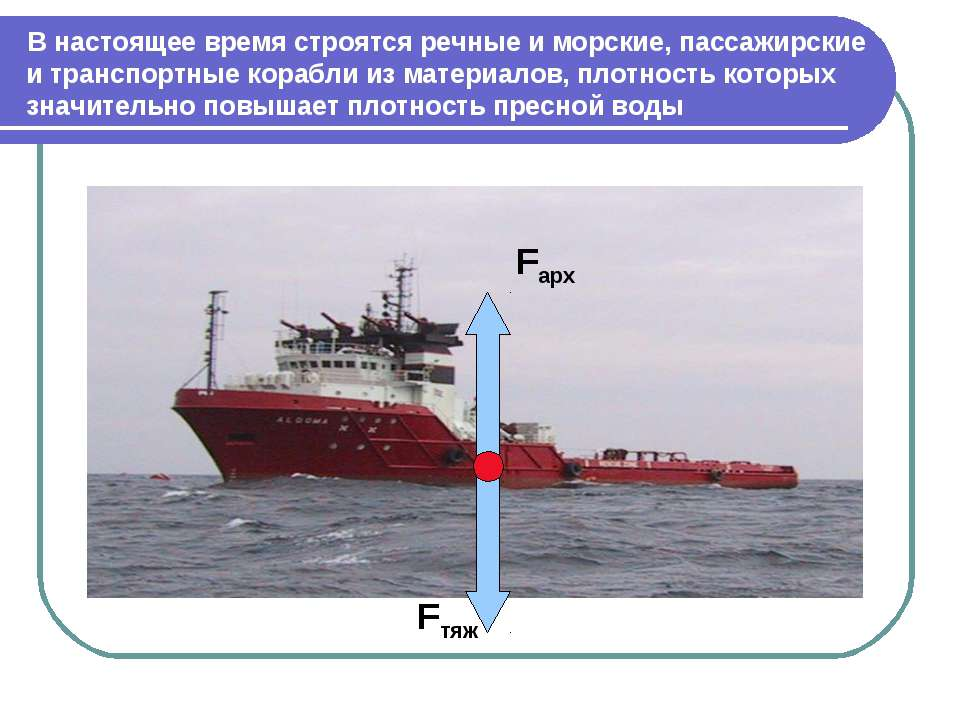 В настоящее время строятся речные и морские, пассажирские и транспортные кора...